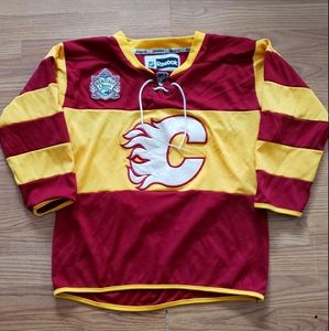 Calgary Flames 2011 Heritage Classic NHL Jersey